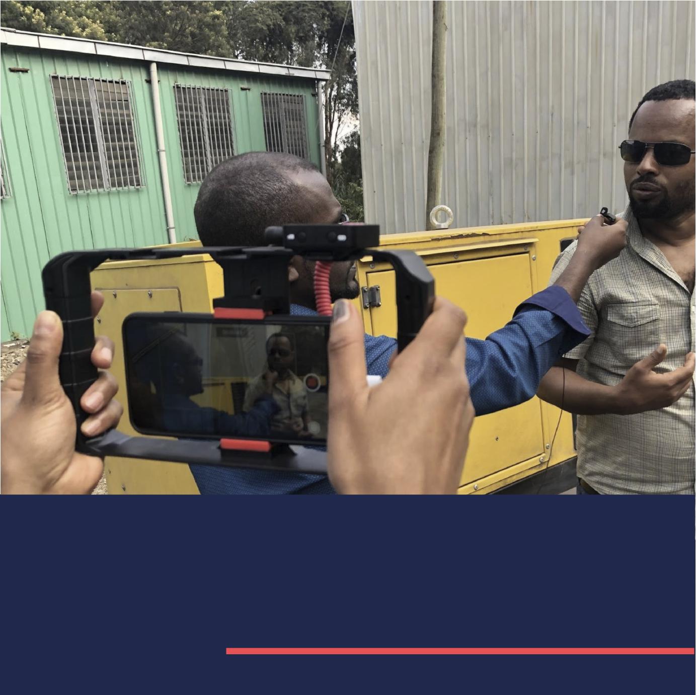 Retour sur la formation vidéo mobile en Éthiopie
